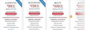 inmotion hosting dedicated server plans