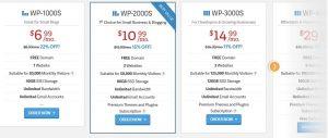 inmotionhosting wordpress hosting plans